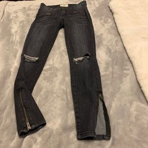 Current/Elliott Grey Jeans